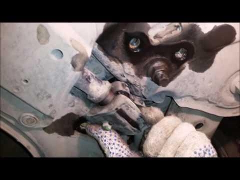 Замена втулок переднего стабилизатора на тойота королла 150