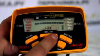 Обзор металлоискателя Garrett Ace 250