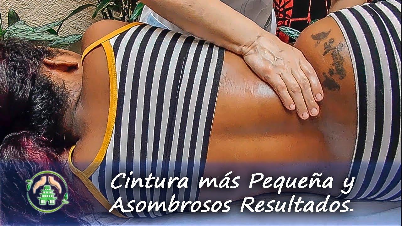 CÓMO HACER UN MASAJE REDUCTOR DE CINTURA Y ABDOMEN