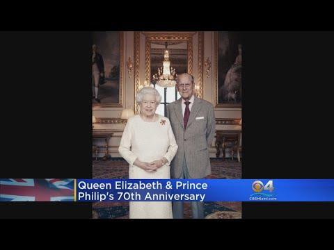 Royal Anniversary At Buckingham Palace