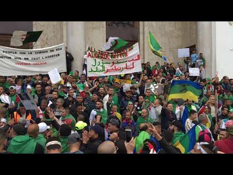 Algérie : manifestation pour le 9e vendredi consécutif | AFP Images