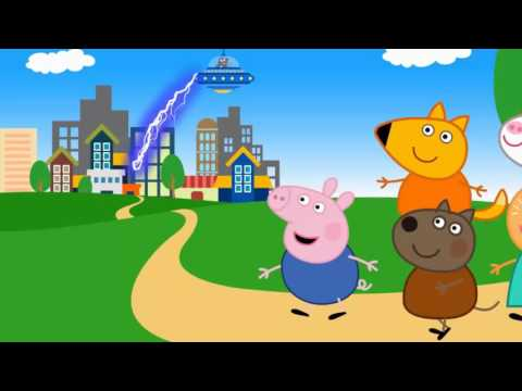 Pippa Pig English Best SuperHero Episodes Compilation 2016 Part 4