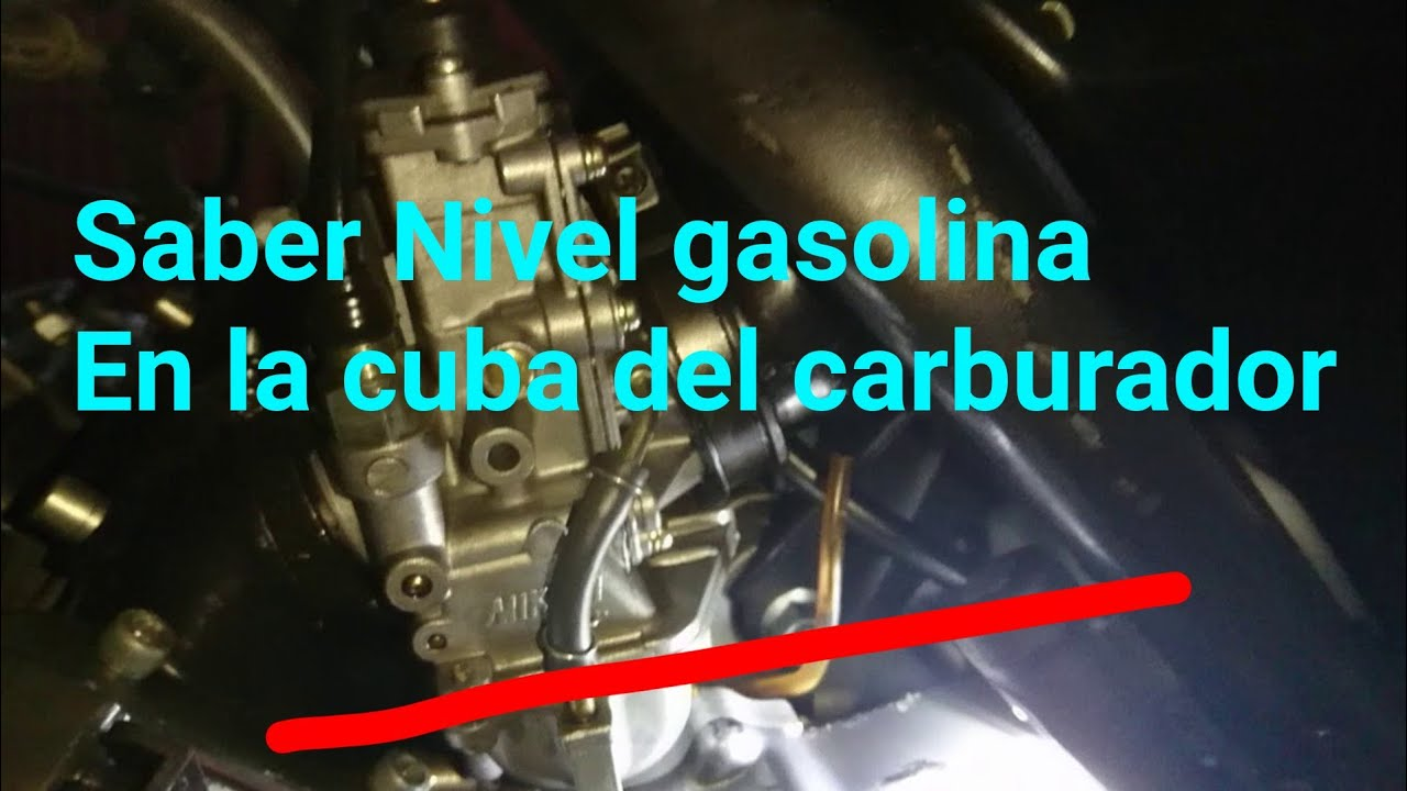Porque no le llega gasolina al carburador de mi carro