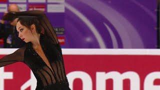 Елизавета Туктамышева Произвольная программа Женщины Гран при по фигурному катанию 2020 21