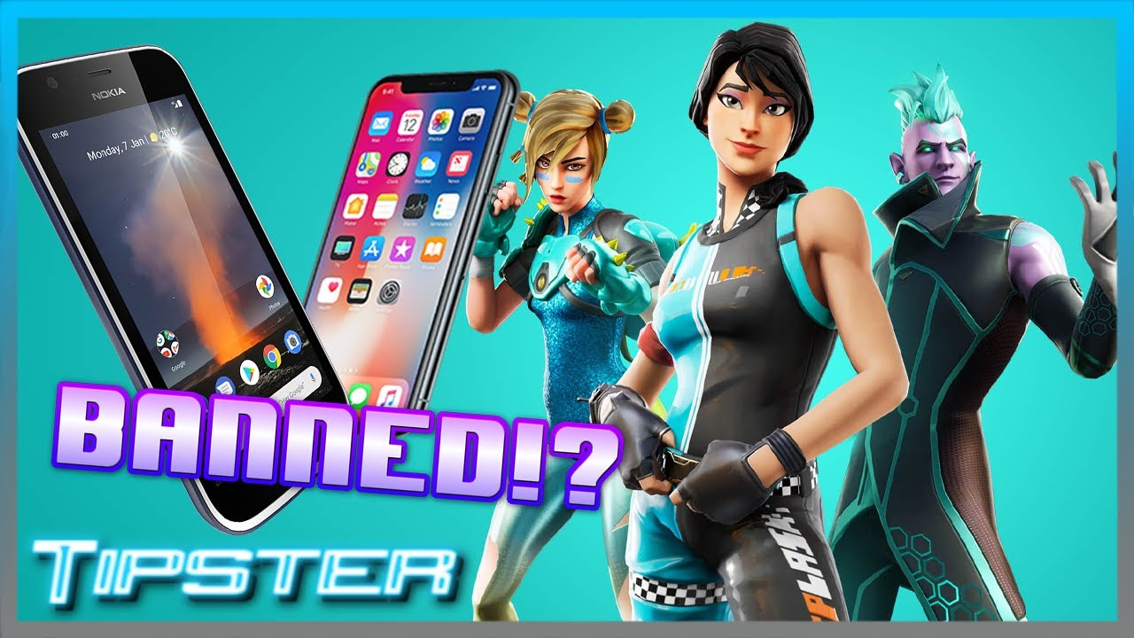 Fortnite BANNED from iOS and Android!?