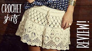 Вяжем юбки крючком / ОБЗОР / Crochet Skirts Review