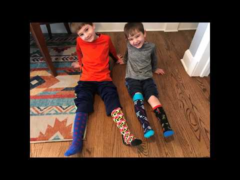 3/21/2020 Rodgers Forge Elementary School celebrates World Down Syndrome Day by wearing crazy socks