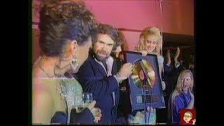 The Bangles - MTV Music News - Gold Record presentation 1986