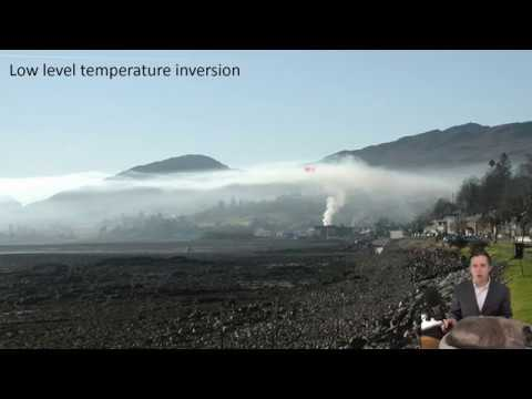 Lecture 8:  Introduction to temperature inversions and air pollution
