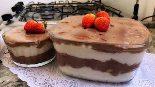 PAVÊ DE CHOCOLATE COM COCO – FÁCIL E SIMPLES