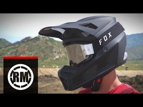 Fox Racing V3 Motocross Helmet | First Impressions