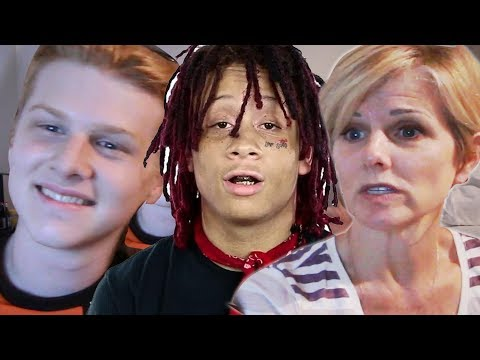 Mom reacts to Trippie Redd