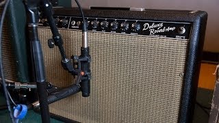 Recording Electric Guitar Session 3 - Fender Deluxe, 65 Blackface. Ross Hogarth & Tim Pierce