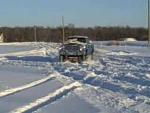 dodge power wagon in the snow youtube. Black Bedroom Furniture Sets. Home Design Ideas