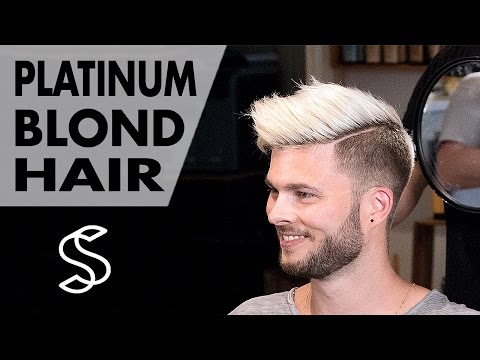 Aaron Ramsey to Justin Bieber ★ Platinum Blond Style ★ Men's Hair Inspiration