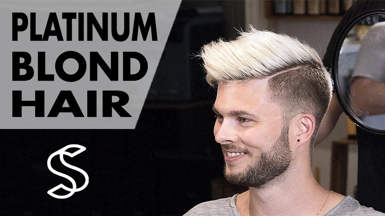 Aaron Ramsey To Justin Bieber Platinum Blond Style Men S Hair Inspiration