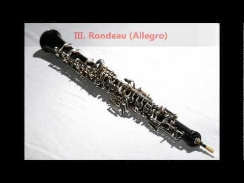 Mozart - Oboe Quartet in F, K. 370 / K. 368b [complete]