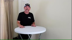The Best Tall Folding Table