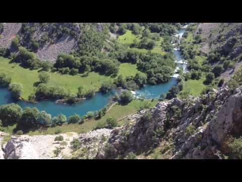 Trekking Krupa River Canyon, Croatia   Raftrek Adventure Travel