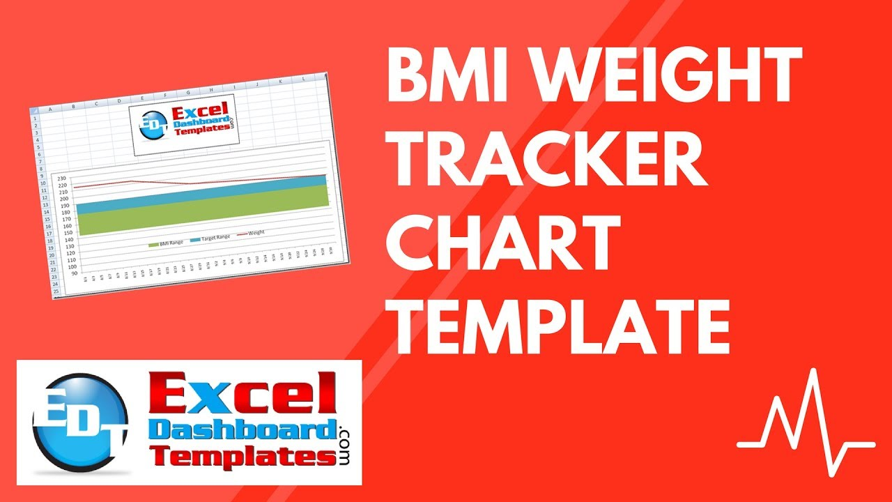 bmi weight tracker chart excel template free download tutorial youtube