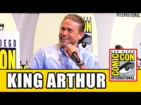 KING ARTHUR LEGEND OF THE SWORD Comic Con Panel  Charlie Hunnam