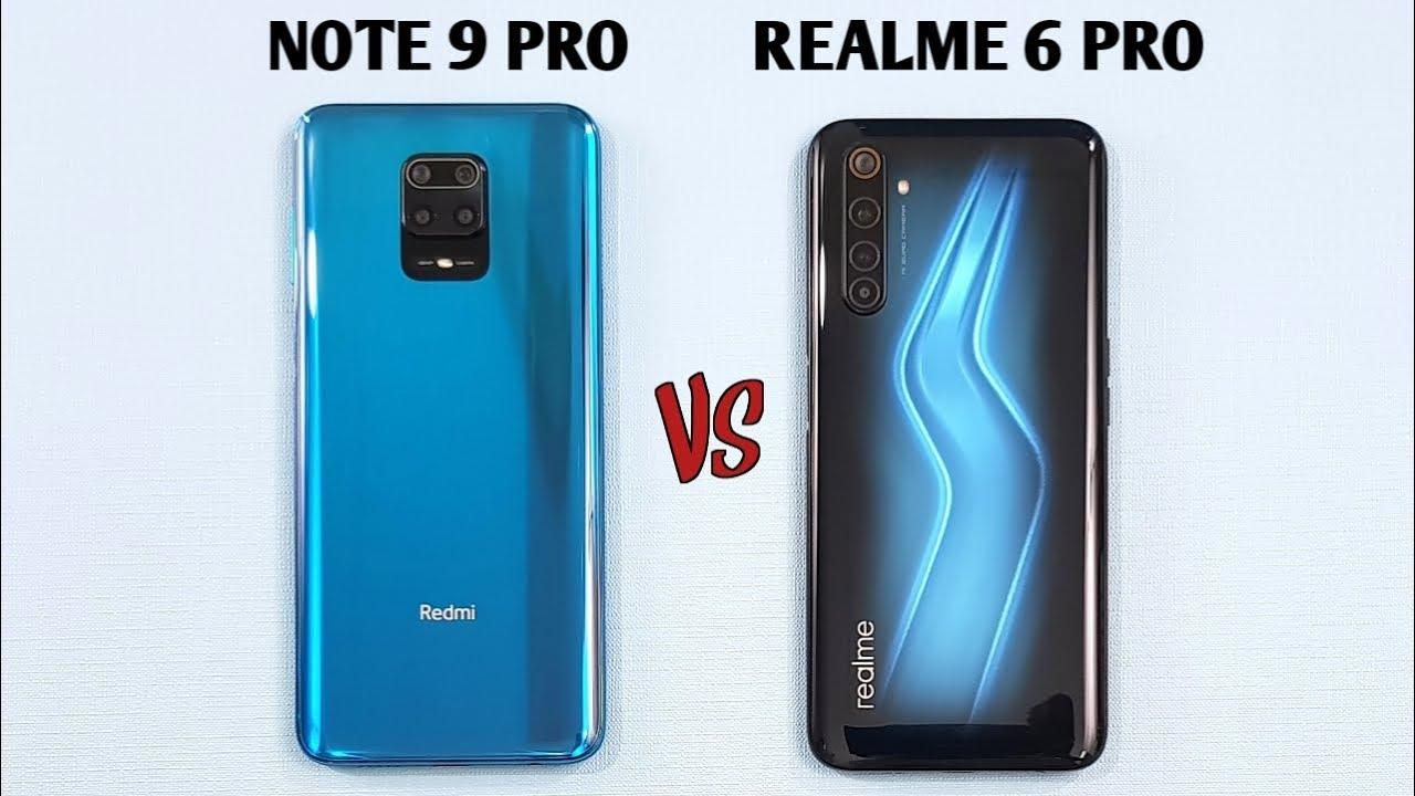 Redmi Note 9 Pro vs Realme 6 Pro Speed Test & Camera Comparison