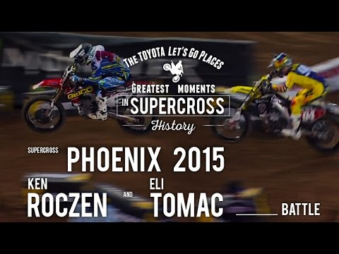 Phoenix 2015 | Eli Tomac and Ken Roczen battle