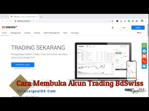 Cara Membuka Akun Bdswiss Bagi Trader Di Indonesia Youtube
