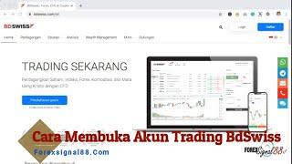 Cara Membuka Akun BDSwiss Bagi Trader di Indonesia