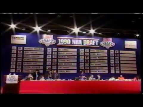 1990 NBA Draft - TNT - part 6