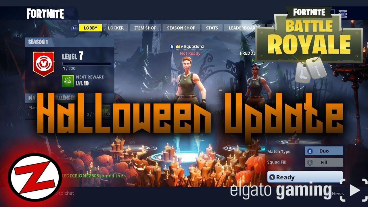 Huge Fortnite Update Halloween Map Leaderboards Ranking System
