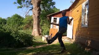 Dance in Latvia | Some funny video.