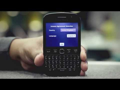 how to set up a new blackberry id