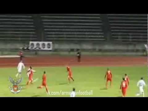 Люксембург-Армения гол Эдгара Манучаряна