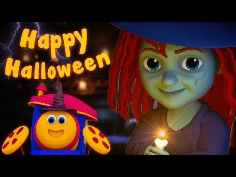 Thumbnail: Halloween Song | Bob The Train | Scary Kindergarten Nursery Rhymes | Videos For Children by Kids Tv