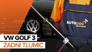 Jak vyměnit zadní tlumič na VW GOLF 3 NÁVOD | AUTODOC