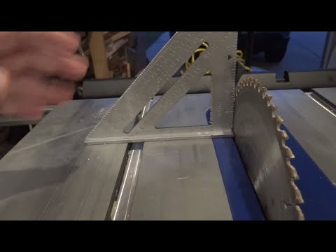 table saw tricks recommendations & cheats  woodworking maxims