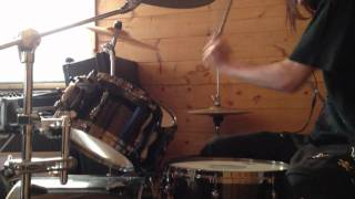 Predisposed drum cover