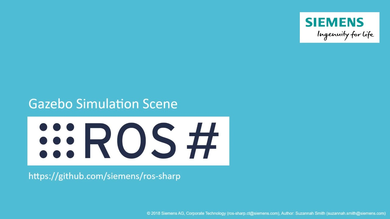 ROS# - ROS# - ROS-Unity Communication Package - Unity Forum