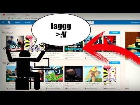 Como Quitarle El Lag A Los Juegos En Roblox Youtube