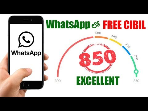 Get Your CIBIL Score (Credit Score) Online Free On WhatsApp - Know your CIBIL Score on WhatsApp - 동영상