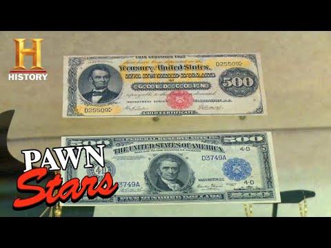 Pawn Stars: INCREDIBLY RARE FEDERAL CURRENCY (Season 13) | History