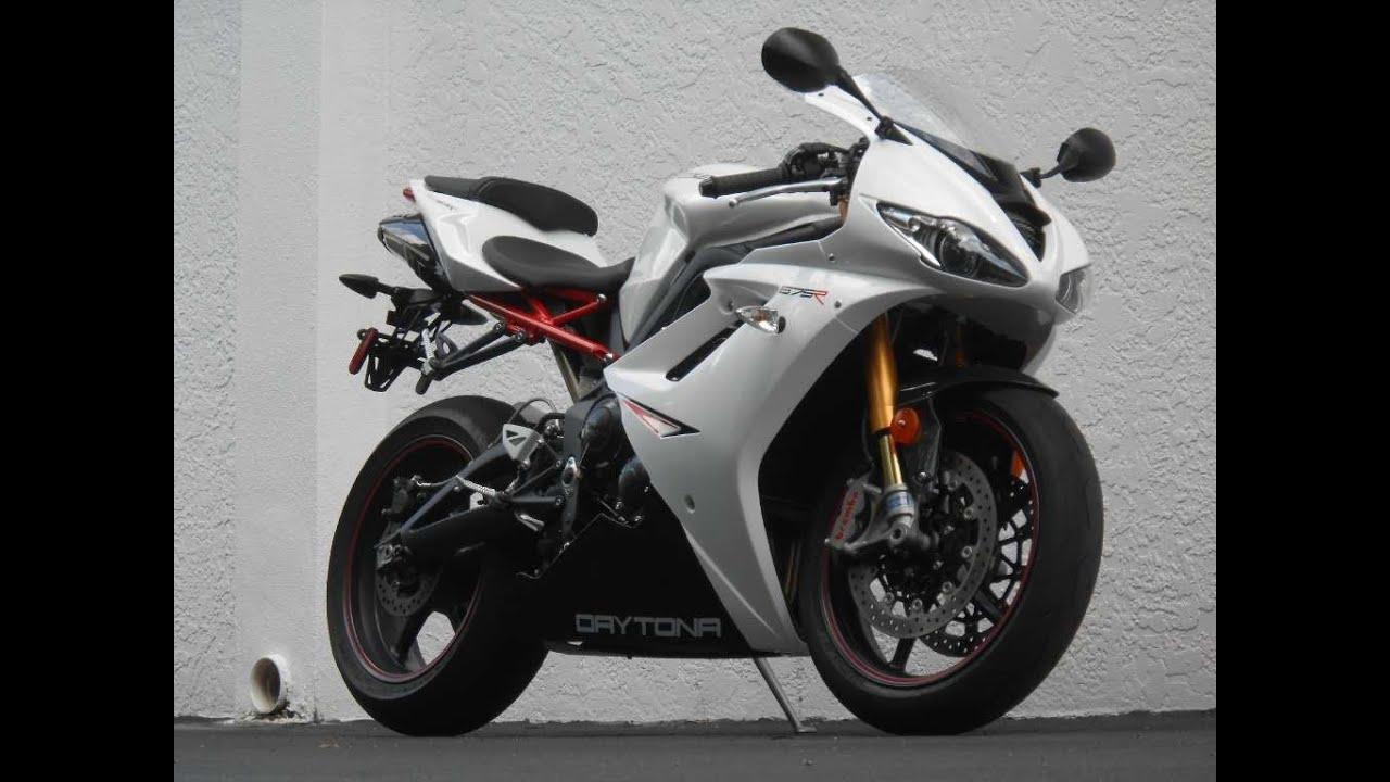 2012 Triumph Daytona 675r Ride Video Gulf Coast Motorcycles Youtube