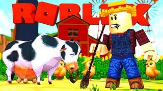 MIJN EIGEN BOERDERIJ IN ROBLOX !! Roblox Farmtown