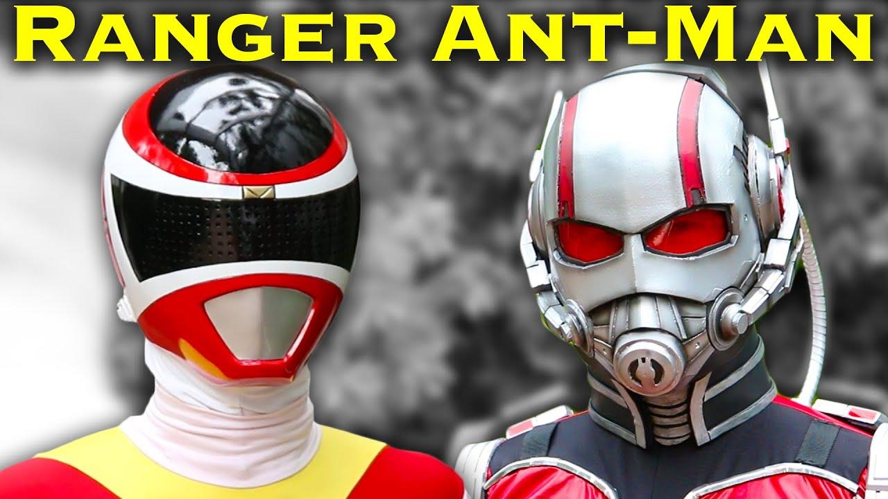 Power Ranger vs. Ant-Man [FAN FILM] Power Rangers | Marvel