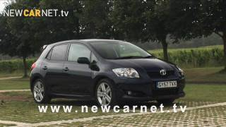 Toyota Auris SR video trailer