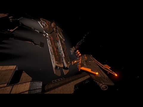 Elite: Dangerous A Visit to Federation Capital Ship Dock in Neits