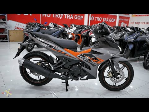 Yamaha Exciter 150i 2020 – Xám Cam Đen – Walkaround