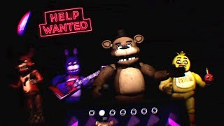 SHOWTIME STAGE PERFORMANCE - FNAF VR: Help Wanted