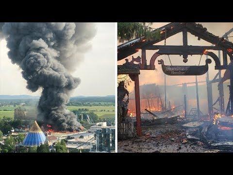 Europa-Park öffnet am Morgen nach Großbrand wieder